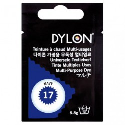 TEINT.DYLON TS TISSUS BLEU NAVY   8017