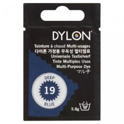 TEINT.DYLON TS TISSUS BLEU NUIT   8019