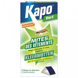 KAPO PIEGE MITES VETEMENTS X2