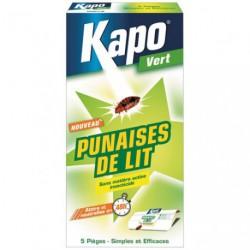 KAPO PIEGES A PUNAISES DE LIT X5