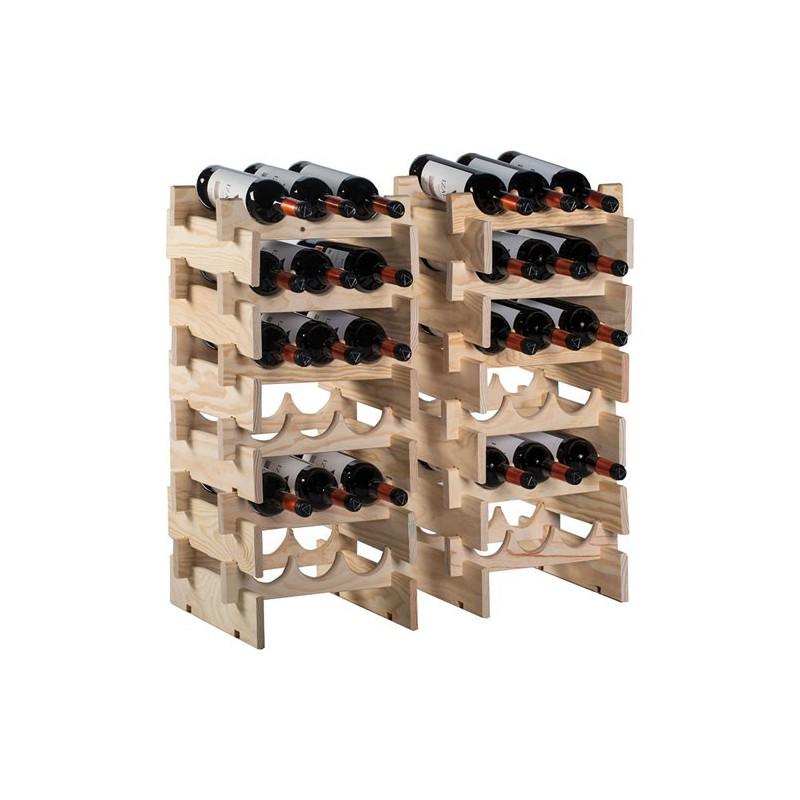 Casier range 6 bouteilles merlot maison de la droguerie - Casier range bouteille ...