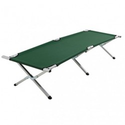 LIT DE CAMP REPLIABLE ALUMINIUM     /P
