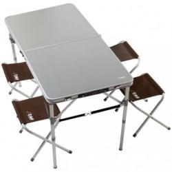 TABLE VALISE AVEC 4 SIEGES          /S