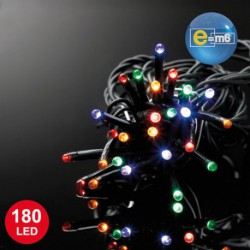 GUIRLANDE 20M 180LED 3MM MULTICOLORE