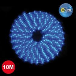 GUIRLANDE CORDON 10M 240 LED BLEU FIL