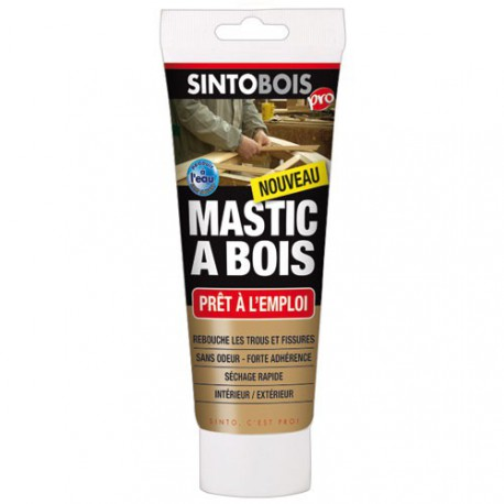 sintobois tube 400gr mastic bois blond maison de la droguerie. Black Bedroom Furniture Sets. Home Design Ideas