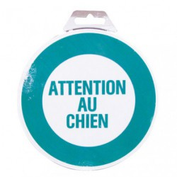 DISQUE ATTENTION AU CHIEN D.180MM
