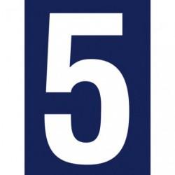 CHIFFRE ADHESIF N°RUE 5             SC