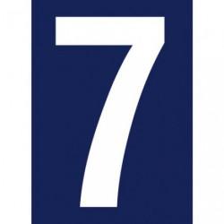 CHIFFRE ADHESIF N°RUE 7             SC
