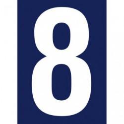 CHIFFRE ADHESIF N°RUE 8             SC