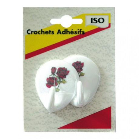 CROCHET ADH.OVAL.DECOR ASSORTIS    BL2