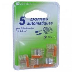 BORNE AUTOMATIQUE 3X0.5 A 2.5MM    BL5