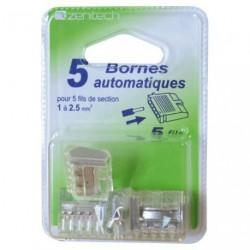 BORNE AUTOMATIQUE 5X0.5 A 2.5MM    BL5
