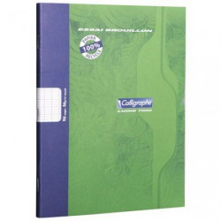 CAHIER BROUILLON 17X22 96PAGES