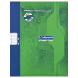 CAHIER BROUILLON 17X22 48PAGES