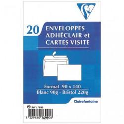ENVEL.CARTE VISITE X20