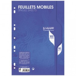 FEUILLE MOBILE PERF.GM 5X5 100PAG