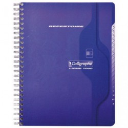 CAHIER REPERTOIRE 180 PAGES 17X22