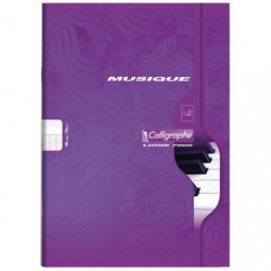 CAHIER MUSIQUE GM 48 PAGES