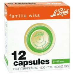 CAPSULE FAMILIA WISS 100MM BOITE DE 12