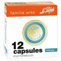 CAPSULE FAMILIA WISS  82MM BOITE DE 12