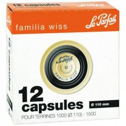 CAPSULE FAMILIA WISS 110MM BOITE DE 12