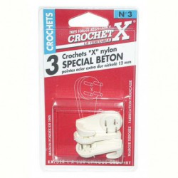 CROCHET X BETON NYLON N3 BLI3    TERB3