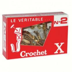 CROCHET X BTE 10 N2  +EPINGLES   BACF2