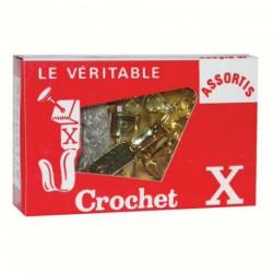 CROCHET X ASST +EPINGLES BTE 10  BACF5
