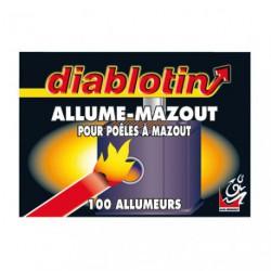 DIABLOTIN ALLUME MAZOUT BTE 100  ALUM2