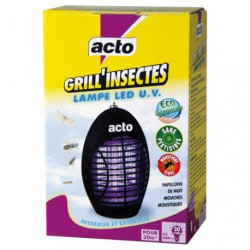 ACTO GRILL'INSECTES LAMPE LED UV