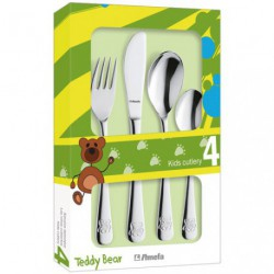 COUVERTS BEBE OURSON COFFRET 4P