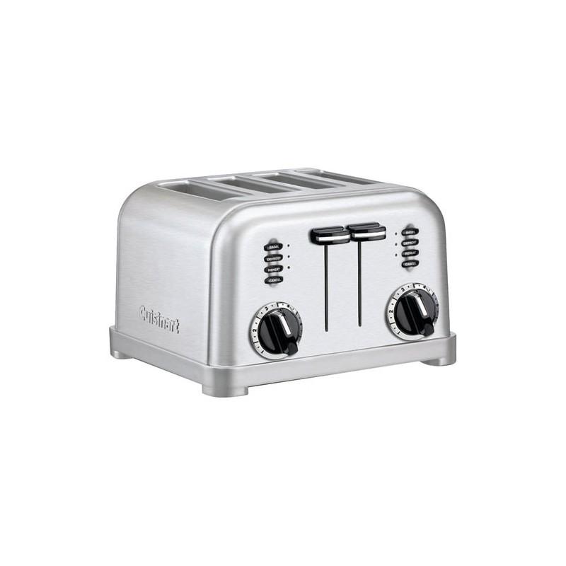 grille pain toaster 4 tranches maison de la droguerie. Black Bedroom Furniture Sets. Home Design Ideas