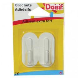 CROCHET ADH.GM X2 BLANC D36       2180