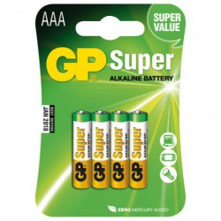 PILE ALCALINE SUPER LR03/AAA       BL4