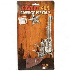 PISTOLET DE COWBOY + ETOILE         /P