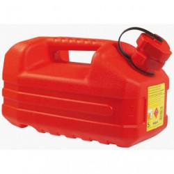 JERRICAN HYDROCARBURE  5L ROUGE