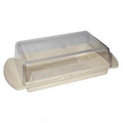 BEURRIER S/FILM CREME COUV.TRANSPARENT