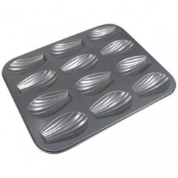 MOULE A MADELEINES X12 ANTIADHESIF