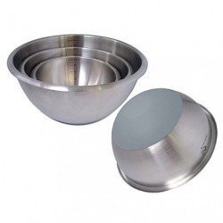 BASSINE DEMI SPHERIQUE INOX D.24CM