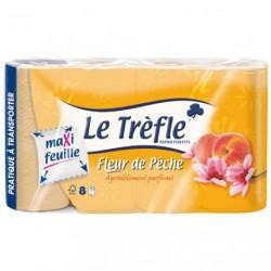 PAPIER WC 8RLX PECHE MAXI LE TREFLE