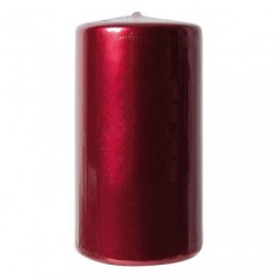 BOUGIE CYLINDRIQUE TP GM ROUGE METALLI