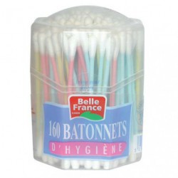 COTON TIGE BOITE DIST.BELLE FRANCE 160