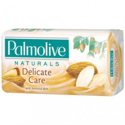 SAVON PALMOLIVE NATURAL AMANDE  LOT/6
