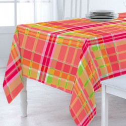 NAPPE TOILE CIREE MATCH MADRAS     140