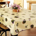 NAPPE TOILE CIREE MATCH LAVANDE    140