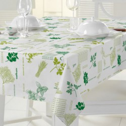 NAPPE TOILE CIREE MATCH AROMATES   140