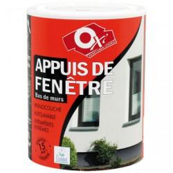 PEINTURE APPUIS FENETRE 1L BLANC  15A.