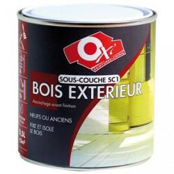 SOUS COUCHE BOIS EXT.500ML BLANC