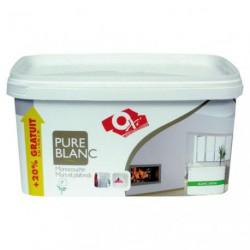 MONOCOUCHE PURE BLANC SATIN 2.5L+20%